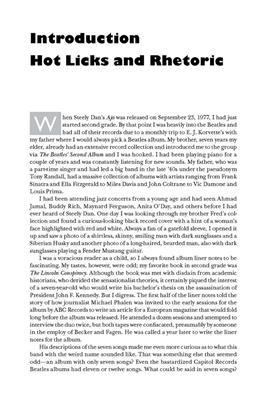 Steely Dan FAQ: Books on Music