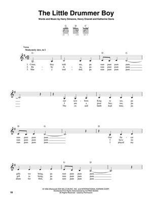 3-Chord Christmas (G-C-D): Guitar Solo