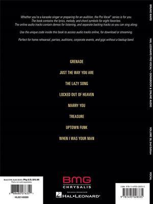 Bruno Mars: Bruno Mars: Melody, Lyrics & Chords