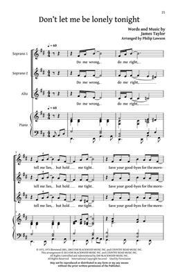 James Taylor: You've Got a Friend: Women's Choir