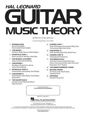 Chad Johnson: Hal Leonard Guitar Music Theory: Guitar or Lute