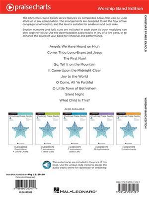 Christmas Praise Carols-Lead Sheets+Rhythm: Melody, Lyrics & Chords