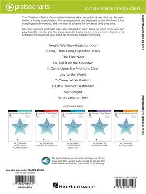 Christmas Praise Carols-C-Treble Instruments: C Clef Instrument