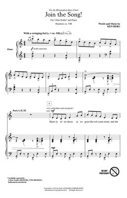 Ken Berg: Join The Song!: Treble Voices