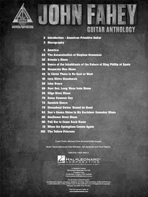 John Fahey - Guitar Anthology: Guitar or Lute