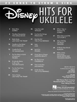 Disney Hits for Ukulele: Ukulele