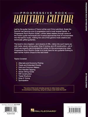 Travis LeVrier: Progressive Rock Rhythm Guitar: Guitar or Lute