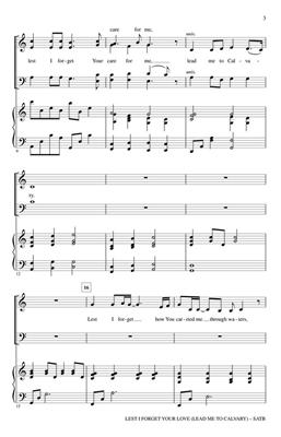 Heather Sorenson: Lest I Forget Your Love: SATB