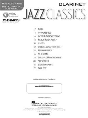 Jazz Classics - Clarinet: Clarinet