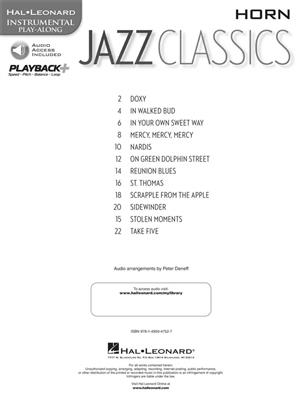 Jazz Classics - Horn: French Horn