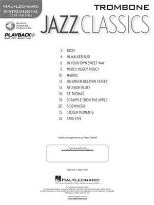 Jazz Classics - Trombone: Trombone
