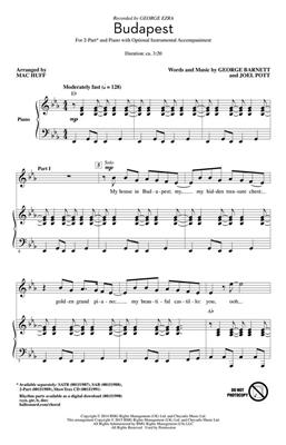George Barnett: Budapest: Arr. (Mac Huff): 2-Part Choir