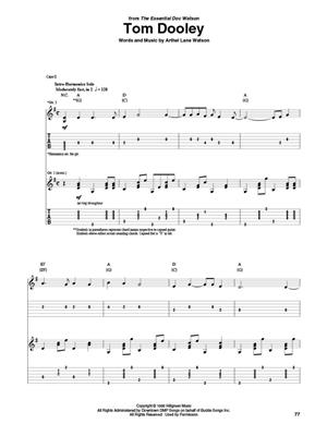 Doc Watson - Guitar Anthology: Guitar