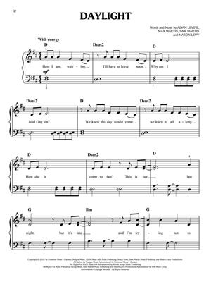 Maroon 5: Maroon 5: Piano or Keyboard