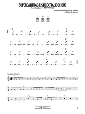 Ukulele for Kids Songbook: Ukulele