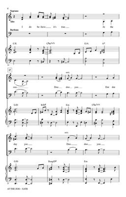 At the Zoo: Paris Rutherford: SATB