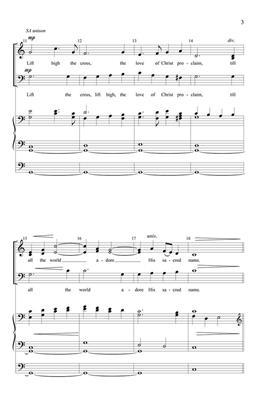 Lift High the Cross: Arr. (Richard A. Nichols): Brass Ensemble