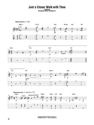 Hymns for Solo Jazz Guitar: Guitar