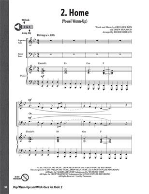 Roger Emerson: Pop Warm-Ups and Work-Outs for Choir, Vol. 2: Vocal