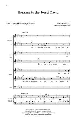 Orlando Gibbons: Five English Anthems: SATB
