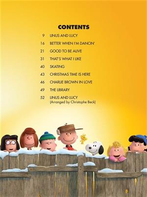 The Peanuts Movie: Piano, Vocal and Guitar (songbooks)