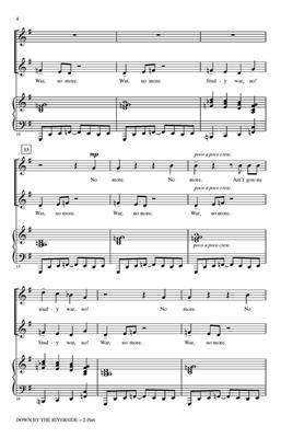 Down by the Riverside: Arr. (Rollo Dilworth): 2-Part Choir