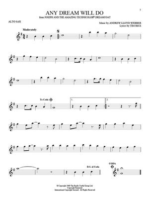 101 Broadway Songs for Alto Sax: Saxophone