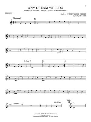 101 Broadway Songs for Trumpet: Trumpet