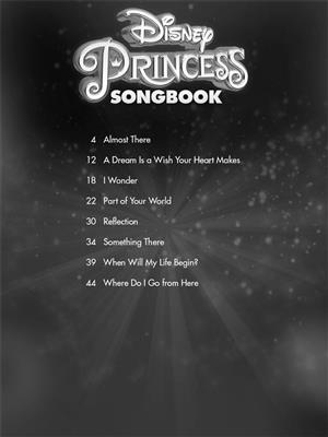 Disney Princess Songbook: Singer's Edition: Vocal