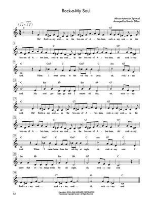 Piano Fun ? Folk Songs And Spirituals: Arr. (Brenda Dillon): Piano