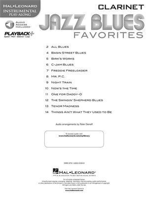 Jazz Blues Favorites - Clarinet: Clarinet