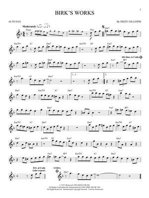 Jazz Blues Favorites - Alto Saxophone: Saxophone