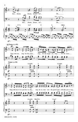 Mark Brymer: Dream On: Mixed Choir