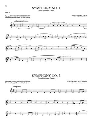 101 Classical Themes for Horn: Horn