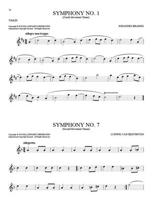 101 Classical Themes for Violin: Violin