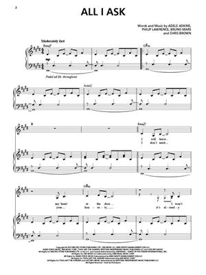 Adele: Adele: Original Keys For Singers: Voice