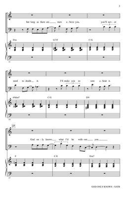 Brian Wilson: God Only Knows: Arr. (Ed Lojeski): Mixed Choir a Cappella