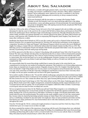 Sal Salvador's Single String Studies for Guitar
