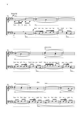Hyo-Won Woo: Teomehe-laul (Serf's Song): Mixed Choir a Cappella