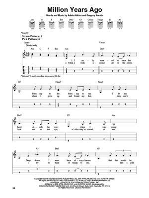 Adele Adkins: Adele - 25: Guitar or Lute