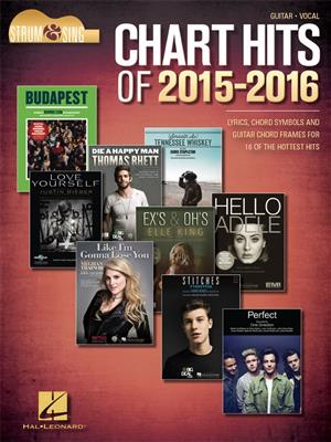Chart Hits of 2015-2016: Voice & Guitar