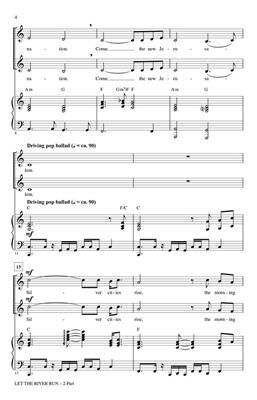 Let the River Run: Arr. (Mac Huff): 2-Part Choir