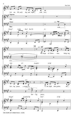 Ann Hampton Callaway: The Hope Of Christmas: Mixed Choir