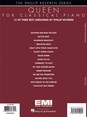 Queen For Classical Piano - Phillip Keveren Series: Arr. (Phillip Keveren): Piano