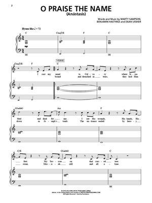 Hillsong Worship - Open Heaven/River Wild: Piano, Vocal, Guitar
