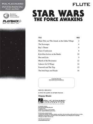 John Williams: Star Wars: The Force Awakens - Flute: Flute