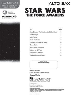 John Williams: Star Wars: The Force Awakens - Alto Saxophone: Saxophone