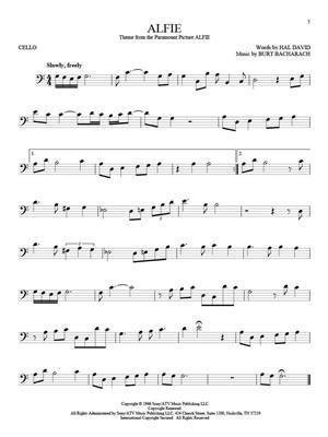 101 Movie Hits for Cello: Cello