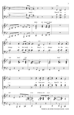There'll Be Some Changes Made: Arr. (Kirby Shaw): SATB