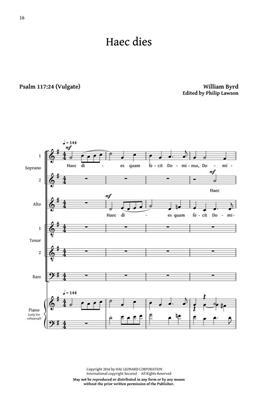 William Byrd: Five Sacred Choral Works: SATB
